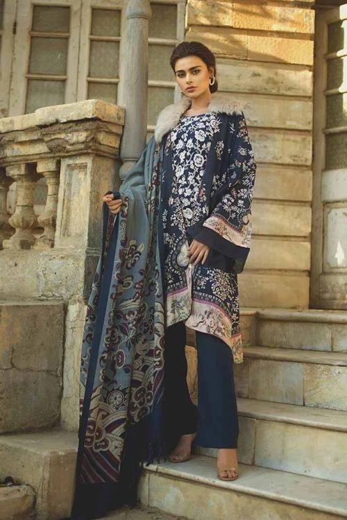 *On Sale* Tena Durrani Winter Shawl TD 07 RESTOCKED Salwar Suits Pakistani Suits for Winter