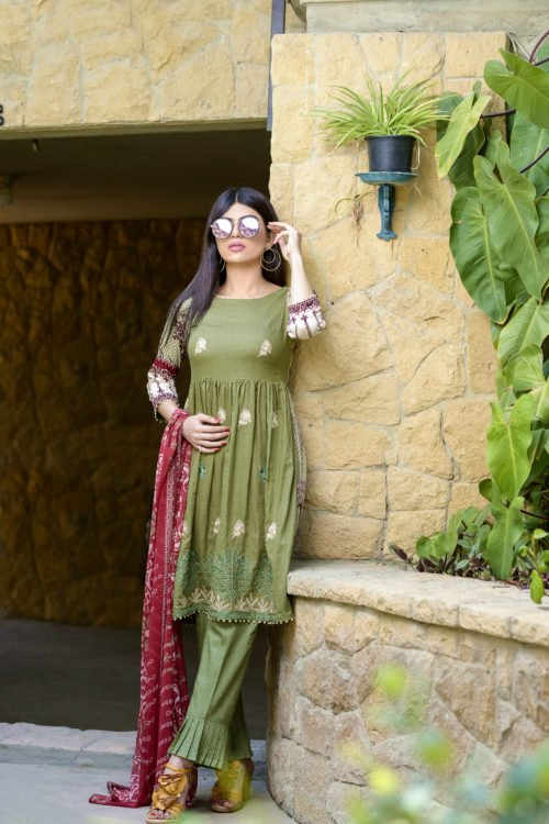 Ayesha Chottani Embroidered Lawn - Original Ayesha Chottani Embroidered Lawn pakistani suits