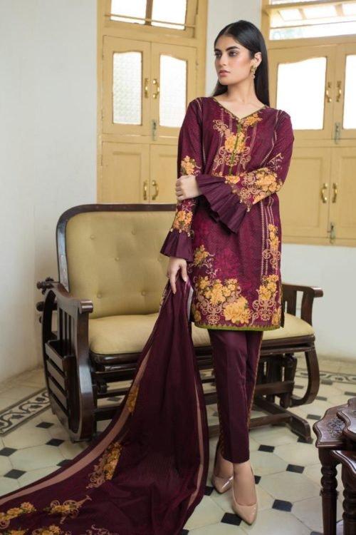 Resham Cambric by Firdous - Original Resham Cambric by Firdous Design 111B [tag]