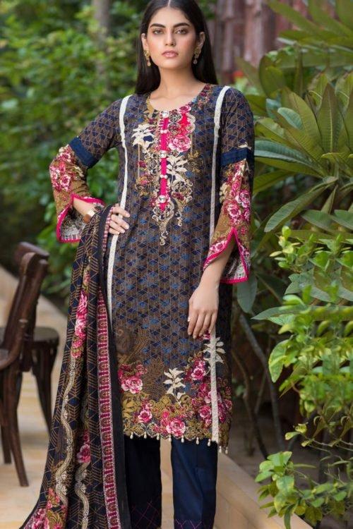 Resham Cambric by Firdous - Original Resham Cambric by Firdous Design 104C [tag]