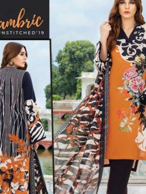 *Hot on Sale* Orient Mid Summer Lawn OTL-19-160-B HOT Ready to Ship - Original Pakistani Suits
