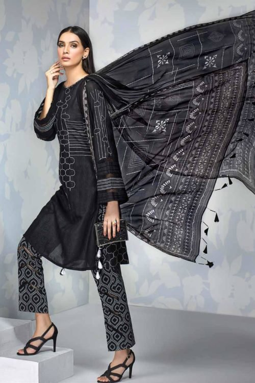 Gul Ahmed Fall Cambric Edition - Original Gul Ahmed Fall Cambric Edition BM141 [tag]