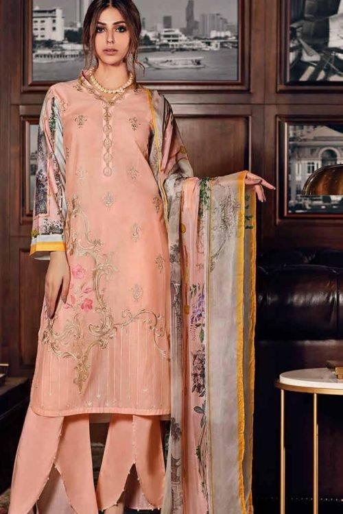 Gul Ahmed Fall Cambric Edition - Original Gul Ahmed Fall Cambric Edition SSM30 [tag]