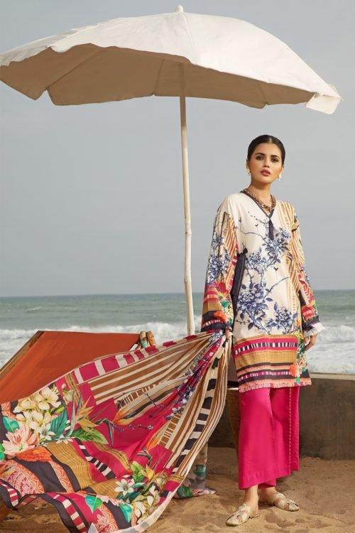 *Hot on Sale* Firdous Vintage Tropical 05B HOT Ready to Ship - Original Pakistani Suits