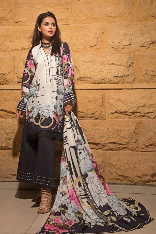 *Hot on Sale* Firdous Vintage Tropical 09B HOT Ready to Ship - Original Pakistani Suits