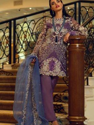 Mushq Festive - Original Mushq Festive   Salwar Kameez   CARIBBEAN SEA Ready to Ship - Original Pakistani Suits