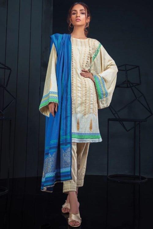 Orient Winter Collection - Original Orient Winter Collection OTL-19-178/B Salwar Suits Pakistani Suits for Winter