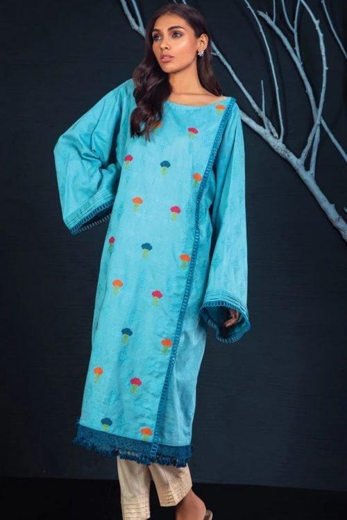 Orient Winter Collection - Original Orient Winter Collection OTL-19-231/B Salwar Suits Pakistani Suits for Winter