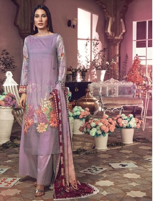 Winter Salwar Kameez | Rajbari | Linen Vol1 '19 | 9B Linen by Rajbari - Original pakistani suits in delhi