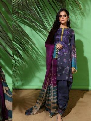 Sana Safinaz Winter Muzlin 2019 - Original Sana Safinaz | Winter Muzlin | 2019 | 13A Salwar Suits Pakistani Suits for Winter