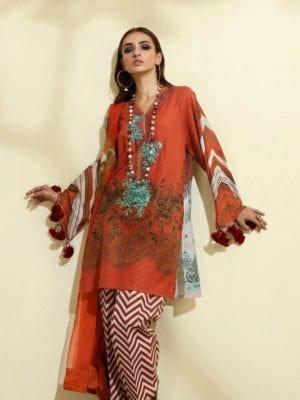 Sana Safinaz Winter Muzlin 2019 - Original Sana Safinaz | Winter Muzlin | 2019 | 8B Salwar Suits Pakistani Suits for Winter