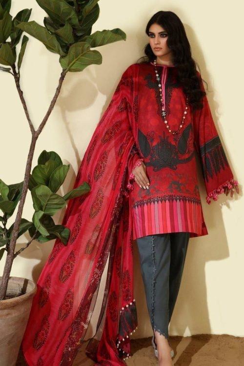 *Hot on Sale* Sana Safinaz | Winter Muzlin | 2019 | 12B HOT Ready to Ship - Original Pakistani Suits