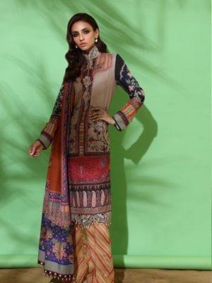 Sana Safinaz Winter Muzlin 2019 - Original Sana Safinaz | Winter Muzlin | 2019 | 10A Salwar Suits Pakistani Suits for Winter