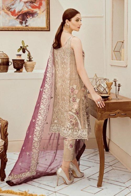 Riona Festive Party Dress by Afrozeh - Original Riona Festive Party Dress by Afrozeh 10 Posh Orchid Party Wear Salwar Kameez and Salwar Suits in India