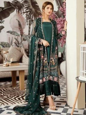 Voyage de L'amoure Pakistani Salwar Suit | Afrozeh | 02- Divine Amethyst Voyage de L'amoure by Afrozeh - Original pakistani suits in mumbai