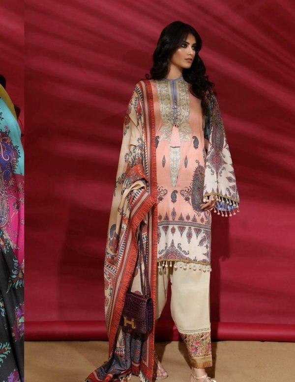 Sana Safinaz Winter Muzlin 2019 - Original Sana Safinaz | Winter Muzlin | 2019 | 2A Salwar Suits Pakistani Suits for Winter