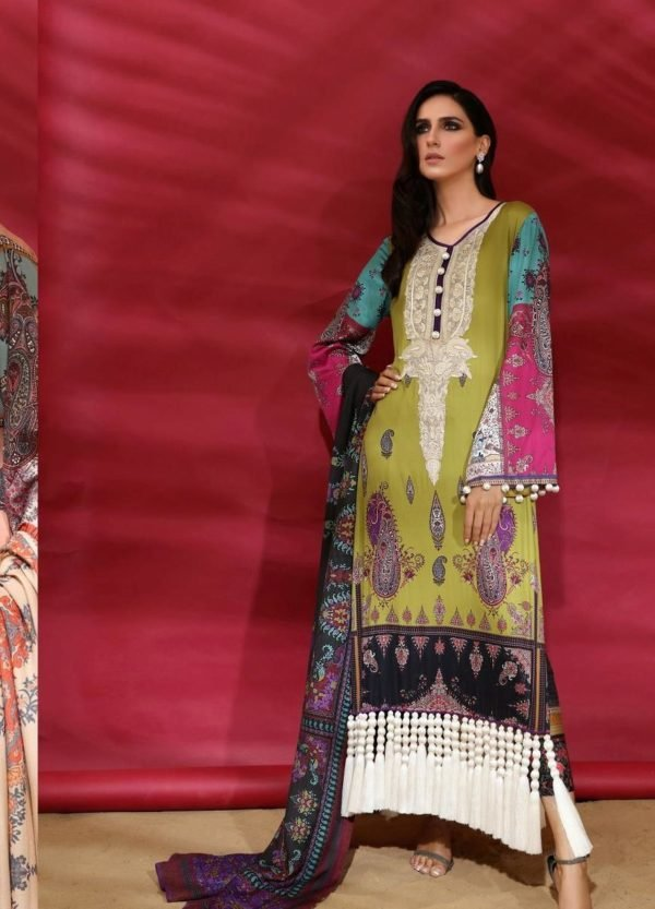 Sana Safinaz Winter Muzlin 2019 - Original Sana Safinaz | Winter Muzlin | 2019 | 2B Salwar Suits Pakistani Suits for Winter
