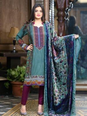 Sana & Samina Twill Palachi Salwar Kameez | Velvet Shawl | Lala HOT – RELISTED / RESTOCKED Sana & Samina Twill Palachi Velvet - Original Best Sellers