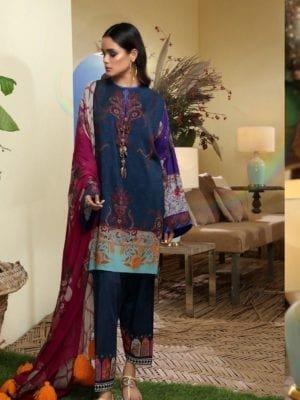Sana Safinaz Winter Muzlin 2019 - Original Sana Safinaz | Winter Muzlin | 2019 | 5B Salwar Suits Pakistani Suits for Winter