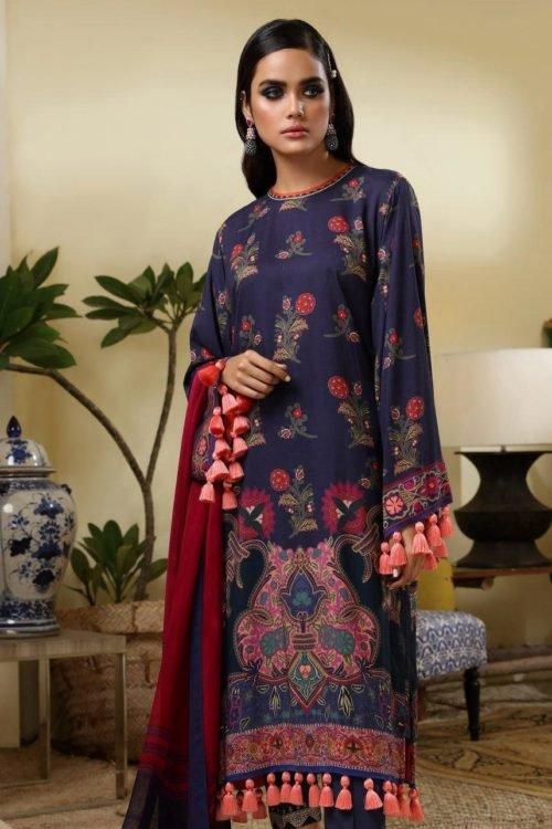 *Hot on Sale* Sana Safinaz | Winter Muzlin | 2019 | 4B HOT Ready to Ship - Original Pakistani Suits