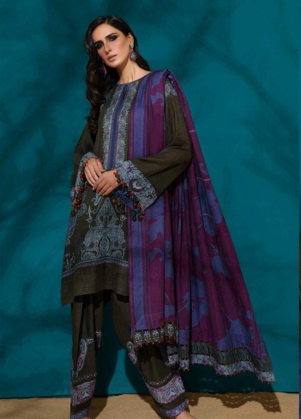 Sana Safinaz Winter Muzlin 2019 - Original Sana Safinaz | Winter Muzlin | 2019 | 5A Salwar Suits Pakistani Suits for Winter