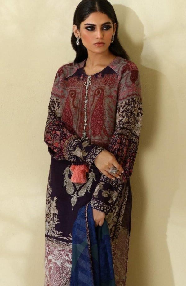 *Hot on Sale* Sana Safinaz | Winter Muzlin | 2019 | 6B HOT Ready to Ship - Original Pakistani Suits