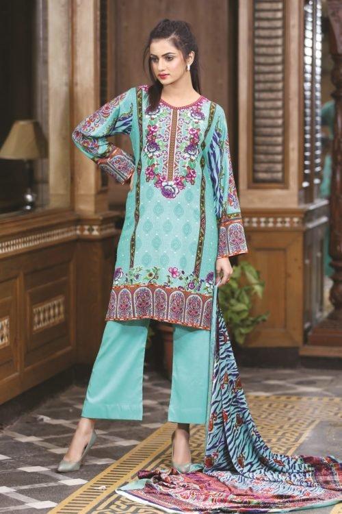 Ready to Ship Sana & Samina Twill Palachi Salwar Kameez | Velvet Shawl | Lala pakistani suits