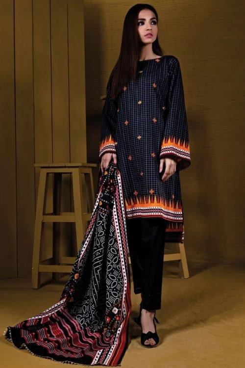 Orient Winter Collection - Original Orient Winter Collection OTL-19-209/B Salwar Suits Pakistani Suits for Winter