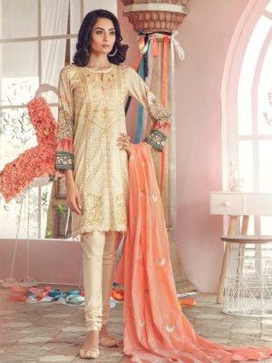 *Hot on Sale* MARIA.B. Lawn 2019 4-A HOT Chiffon Dupatta Salwar Suit