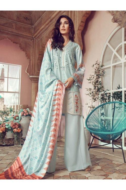 Winter Salwar Kameez | Rajbari | Linen Vol1 '19 | 7B Linen by Rajbari - Original pakistani suits in delhi