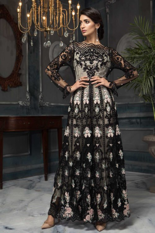 Aayra Festive Chiffon - Original Aayra Festive Chiffon – Pakistani Suit CC-V3-D5 Salwar Suits Pakistani Suits for Winter