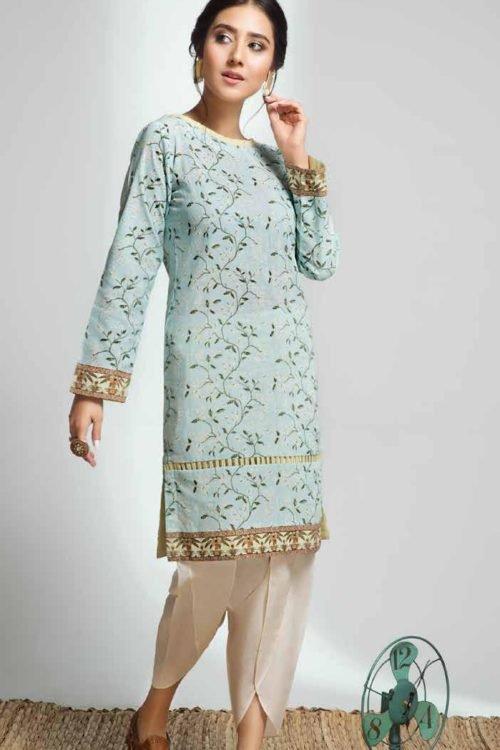 Gulistan by Gul Ahmed - Original Gulistan Pakistani Kurta  |  GulAhmed | SK73 pakistani suits in delhi