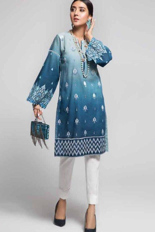 Gulistan by Gul Ahmed - Original Gulistan Pakistani Kurta  |  GulAhmed | SK88 pakistani suits in delhi
