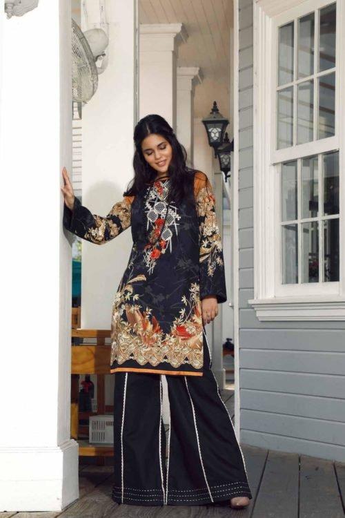 Pakistani Kurti from Firdous   Linen   LK-19404 Linen Kurtis by Firdous - Original pakistani suits in mumbai