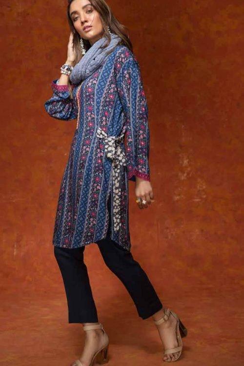 Gulistan by Gul Ahmed - Original Gulistan Pakistani Kurta  |  GulAhmed |  SV15 pakistani suits in delhi