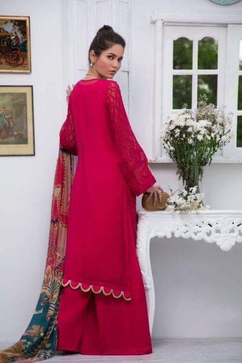 Firdous Luxury Chiffon - Original Firdous Luxury Chiffon LC 02 Ready to Ship - Original Pakistani Suits