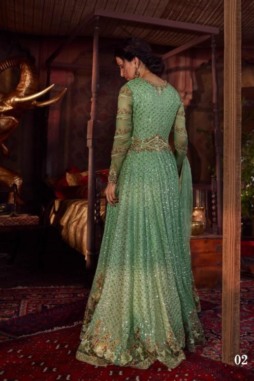 Raiza- Wedding Collection by Qalamkar – Aahana QF-02 Raiza- Wedding Collection by Qalamkar - Original Ready to Ship - Original Pakistani Suits