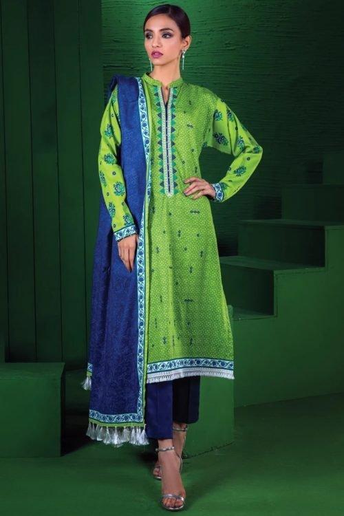 Orient Winter Collection Vol 2 - Original Orient Winter Collection Vol 2 OTL-19-170/A Salwar Suits Pakistani Suits for Winter