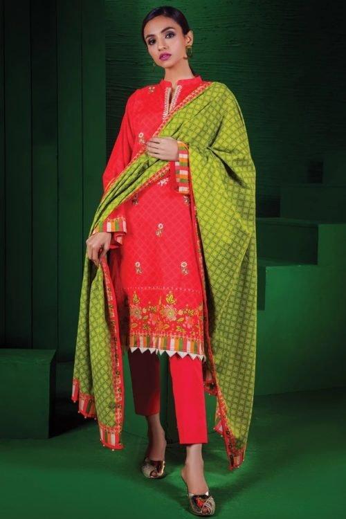 Orient Winter Collection Vol 2 - Original Orient Winter Collection Vol 2 OTL-19-183/A Salwar Suits Pakistani Suits for Winter