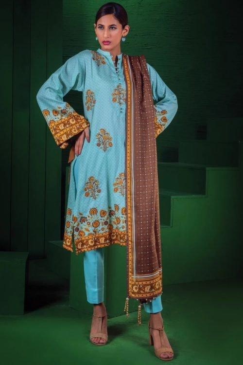 Orient Winter Collection Vol 2 - Original Orient Winter Collection Vol 2 OTL-19-176/B Salwar Suits Pakistani Suits for Winter