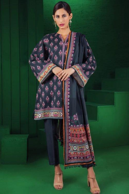 Orient Winter Collection Vol 2 - Original Orient Winter Collection Vol 2 OTL-19-226/B Salwar Suits Pakistani Suits for Winter