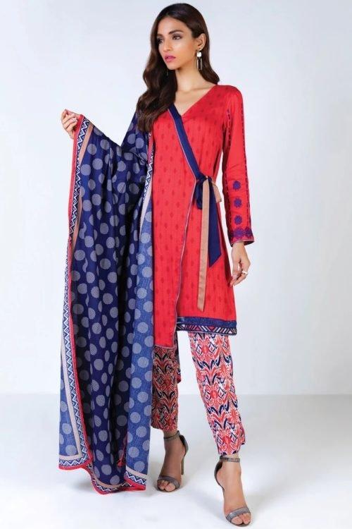 Orient Winter Collection Vol 2 - Original Orient Winter Collection Vol 2 OTL-19-203/B Salwar Suits Pakistani Suits for Winter