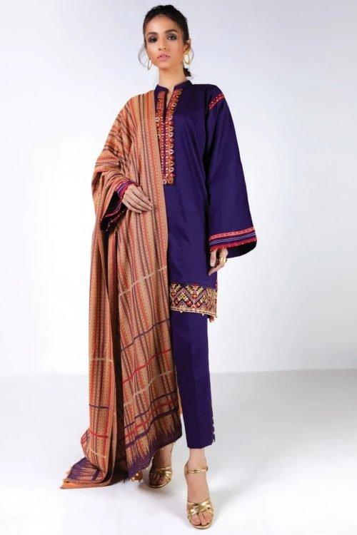 Orient Winter Collection Vol 2 - Original Orient Winter Collection Vol 2 OTL-19-246/A Salwar Suits Pakistani Suits for Winter