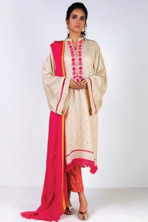 Orient Winter Collection Vol 2 - Original Orient Winter Collection Vol 2 OTL-19-205/A Salwar Suits Pakistani Suits for Winter