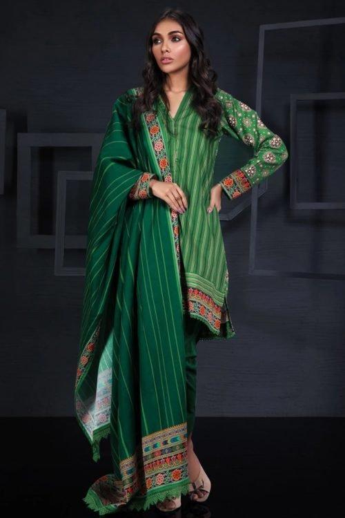 Orient Winter Collection Vol 2 - Original Orient Winter Collection Vol 2 OTL-19-219/A Salwar Suits Pakistani Suits for Winter