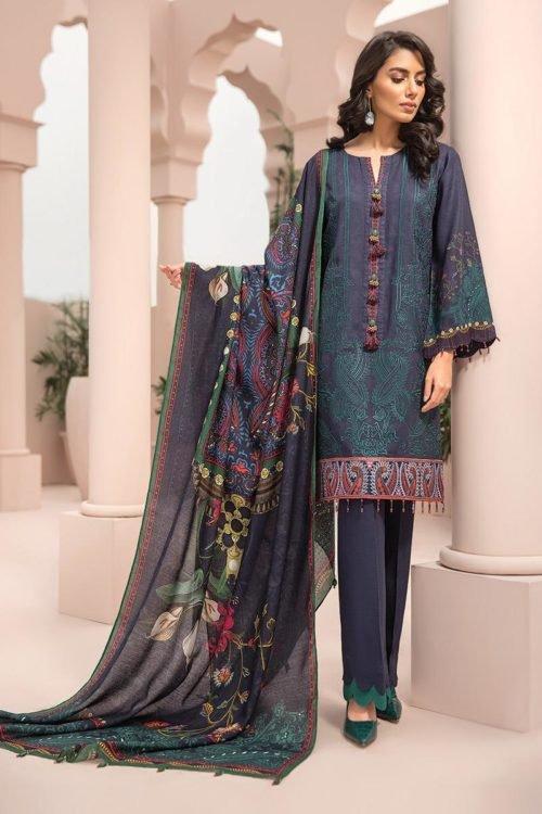 Jazmin Iris Linen Collection - Original Jazmin Iris Linen Collection – Design 03 winter