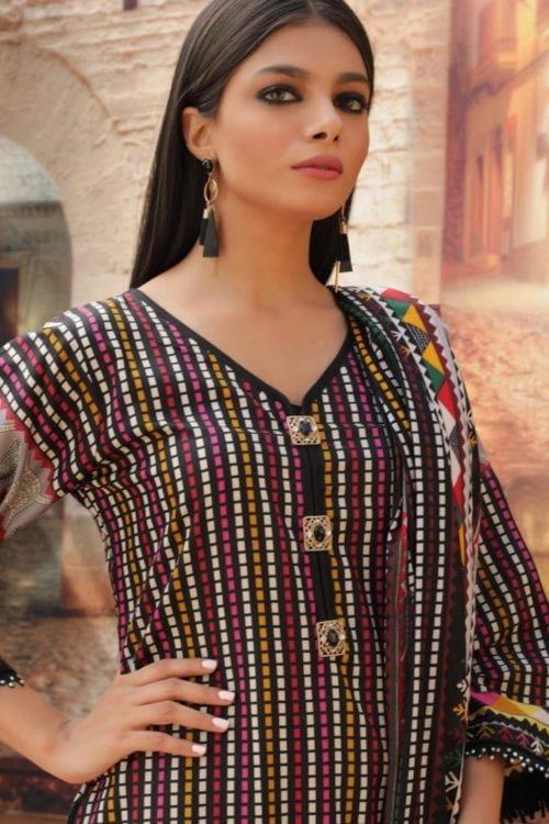*Hot on Sale* Cotton Salwar Kameez by Rangreza HOT Ready to Ship - Original Pakistani Suits