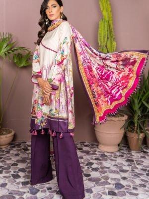 Sana Safinaz Sana Safinaz Winter Shawl 2019 Design 4A [tag]