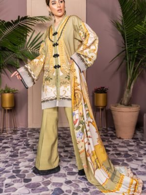 Gul Ahmed Premium Luxury Collection LE06 Best Sellers Restocked Chiffon Dupatta Salwar Suit