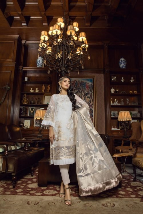 Azure Luxe Festive Edition Vol 3 - Original Azure Luxe Festive Edition – Vintage Haze L-02 Ready to Ship - Original Pakistani Suits